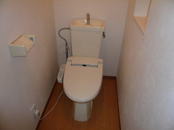 ウオッシュレット付トイレ